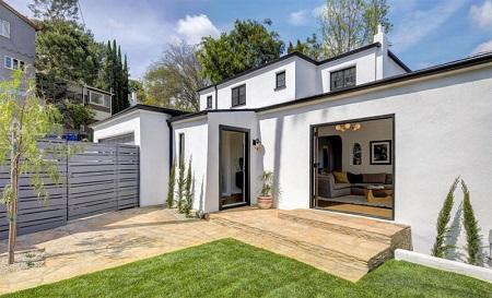Josh Hutcherson's new house in Los Angeles