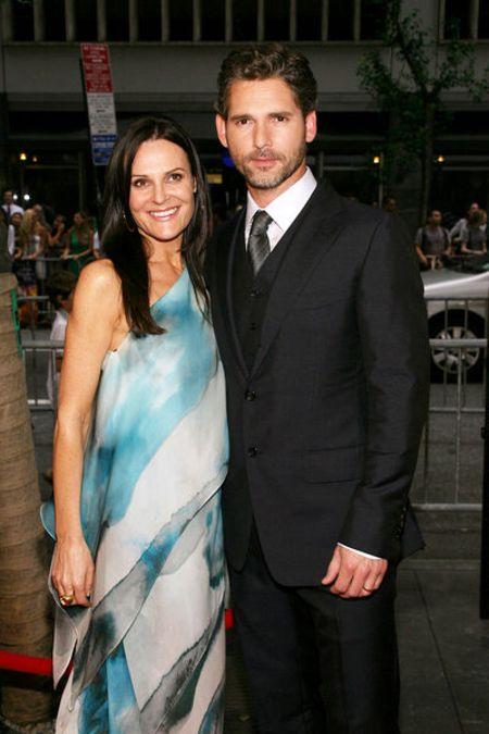 Eric Bana & wife Rebecca Gleeson