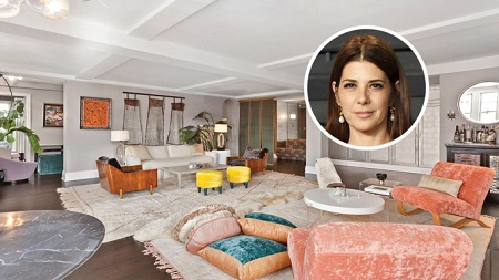 Marisa Tomei listed her Manhattan house for sale