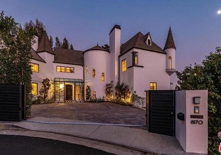 Diane Kruger's house in Hollywood Hills