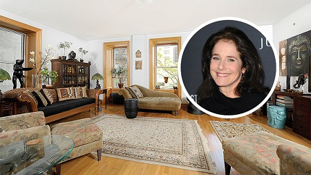 Debra Winger's NYC apartment