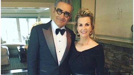 Eugene Levy and wife Deborah Divine