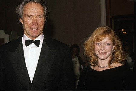 Frances Fisher and her ex-partner Clint Eastwood