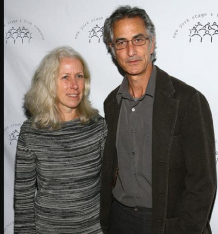 David Strathairn and wife Logan Goodmen