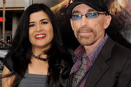 Jackie with his wife, Amelia Cruz
