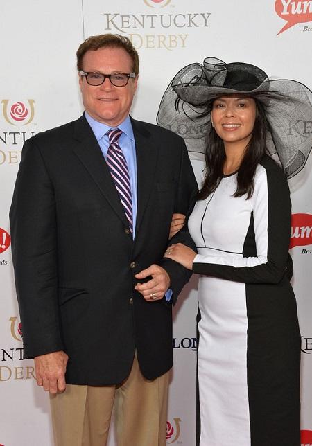 David with his ex-wife, Nancy Clark
