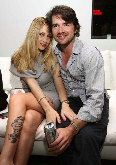 Matthew with his wife Naama Nativ