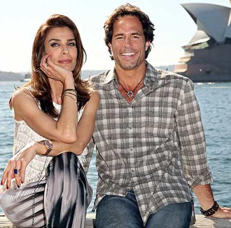 Kristian with her husband, Danny Daggenhurst